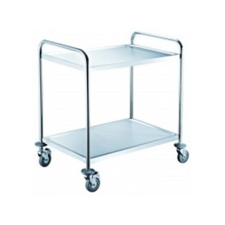 Trolley with 2 shelves